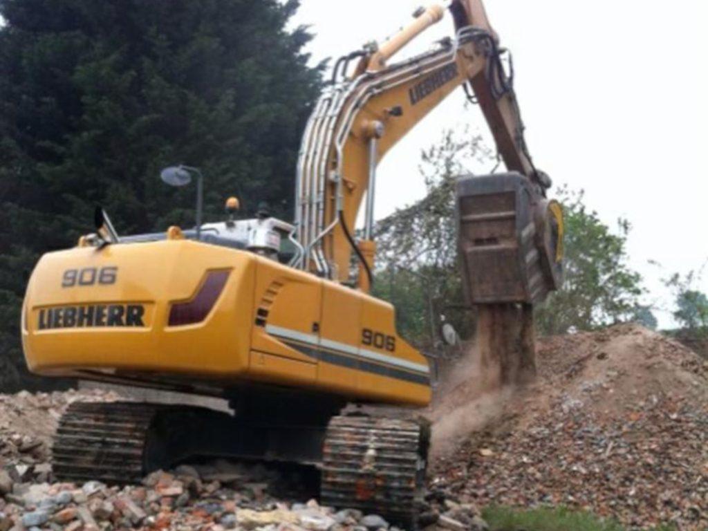 Crushing on site
