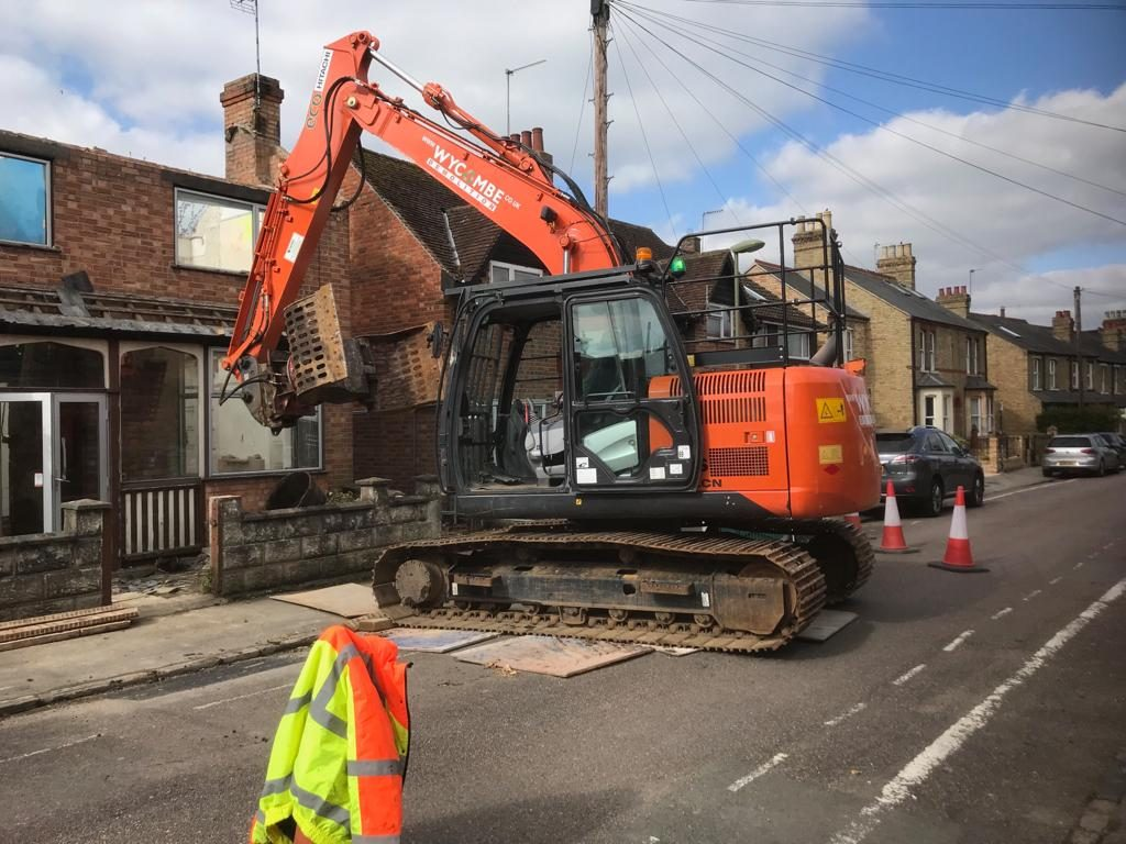 Tight Spaces and road closures Before